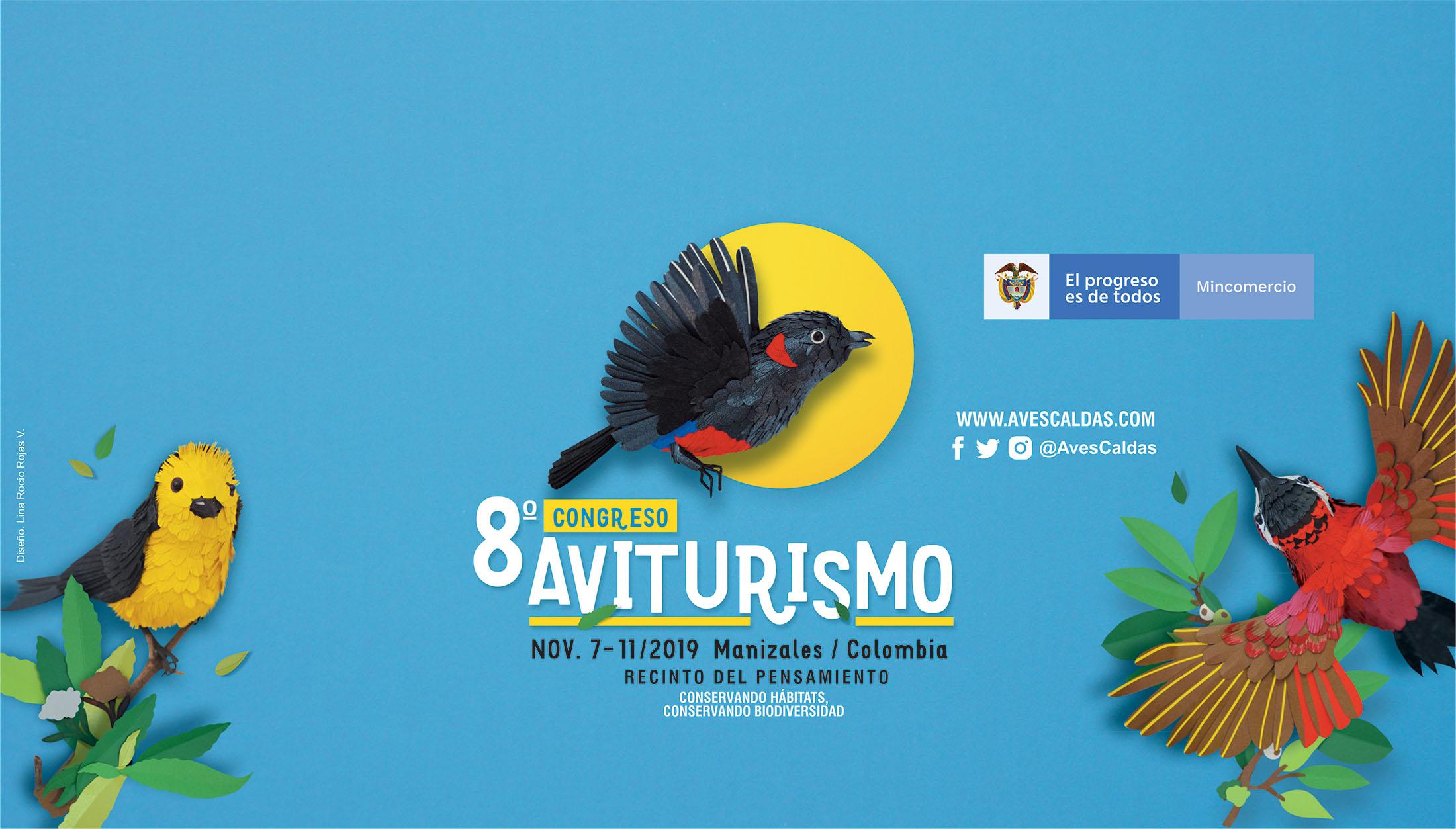 Imagen oficial 8° Congreso Aviturismo