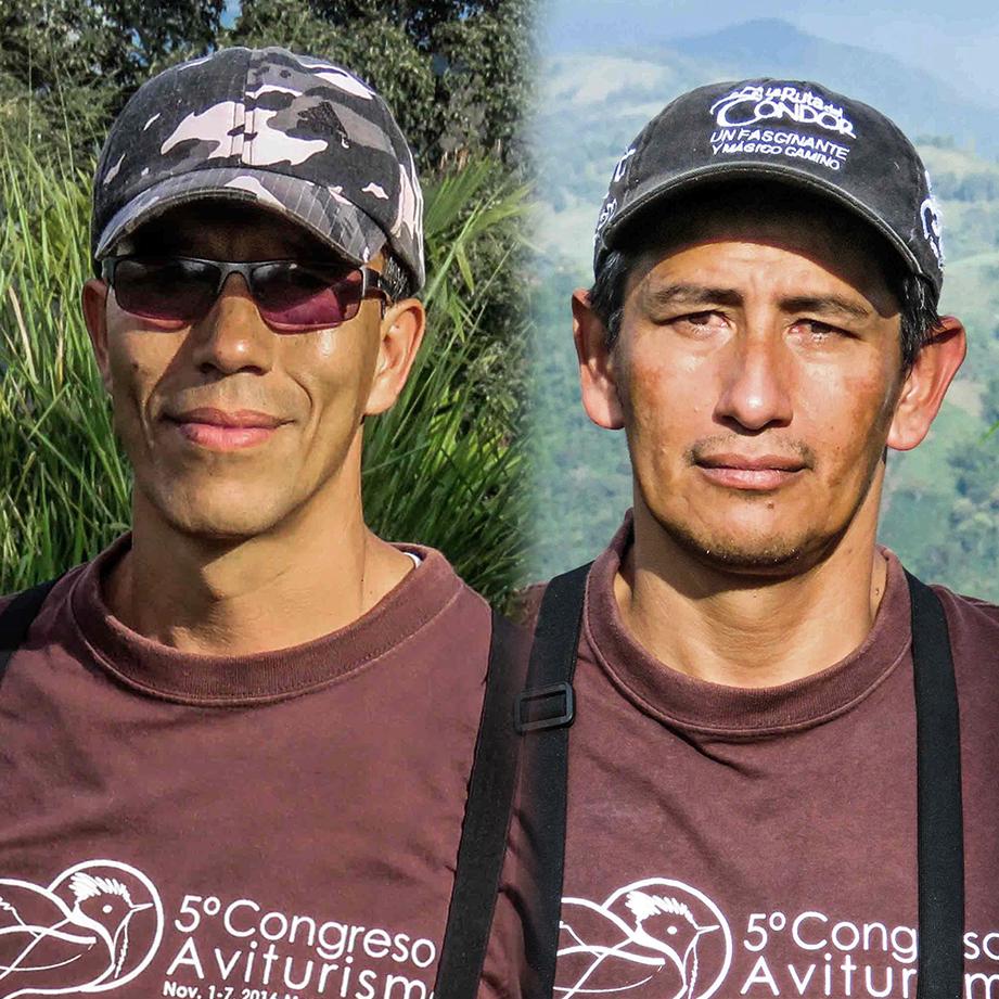 John Murillo y Víctor Méndez