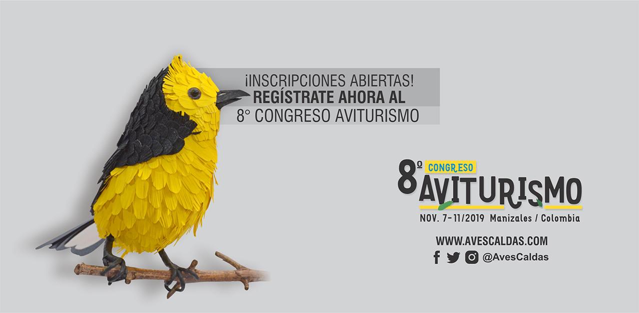 Inscripciones abiertas al 8° Congreso de Aviturismo