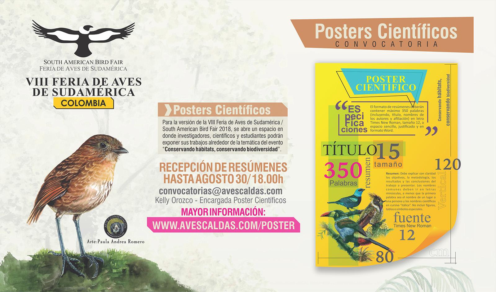 Participa con tu Poster Científico – Conservando Hábitats, Conservando Biodiversidad